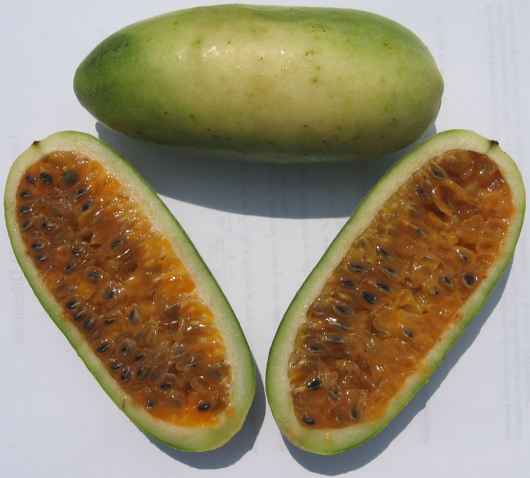 Banana Passionfruit semi